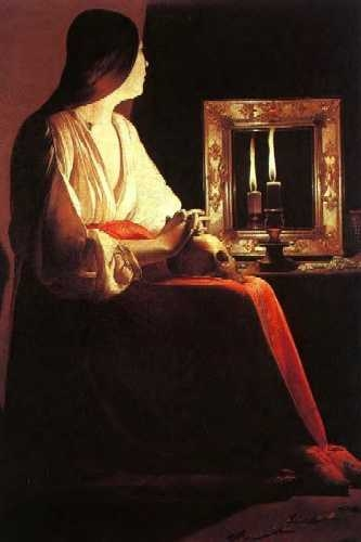 Georges de La Tour, The Penitent Magdalen (1638-43)