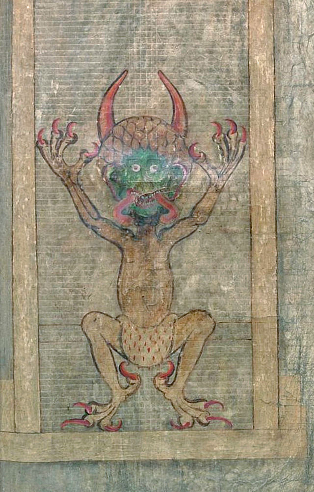 The Devil of the Gigas Codex